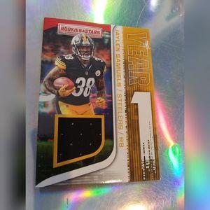 Pittsburgh Steelers Jaylen Samuels Rare Card!